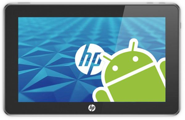 HP Slate cu Android
