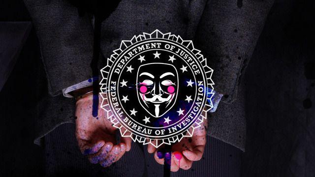 anonymous atack fbi