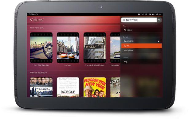 tableta ubuntu canonical sistem operare
