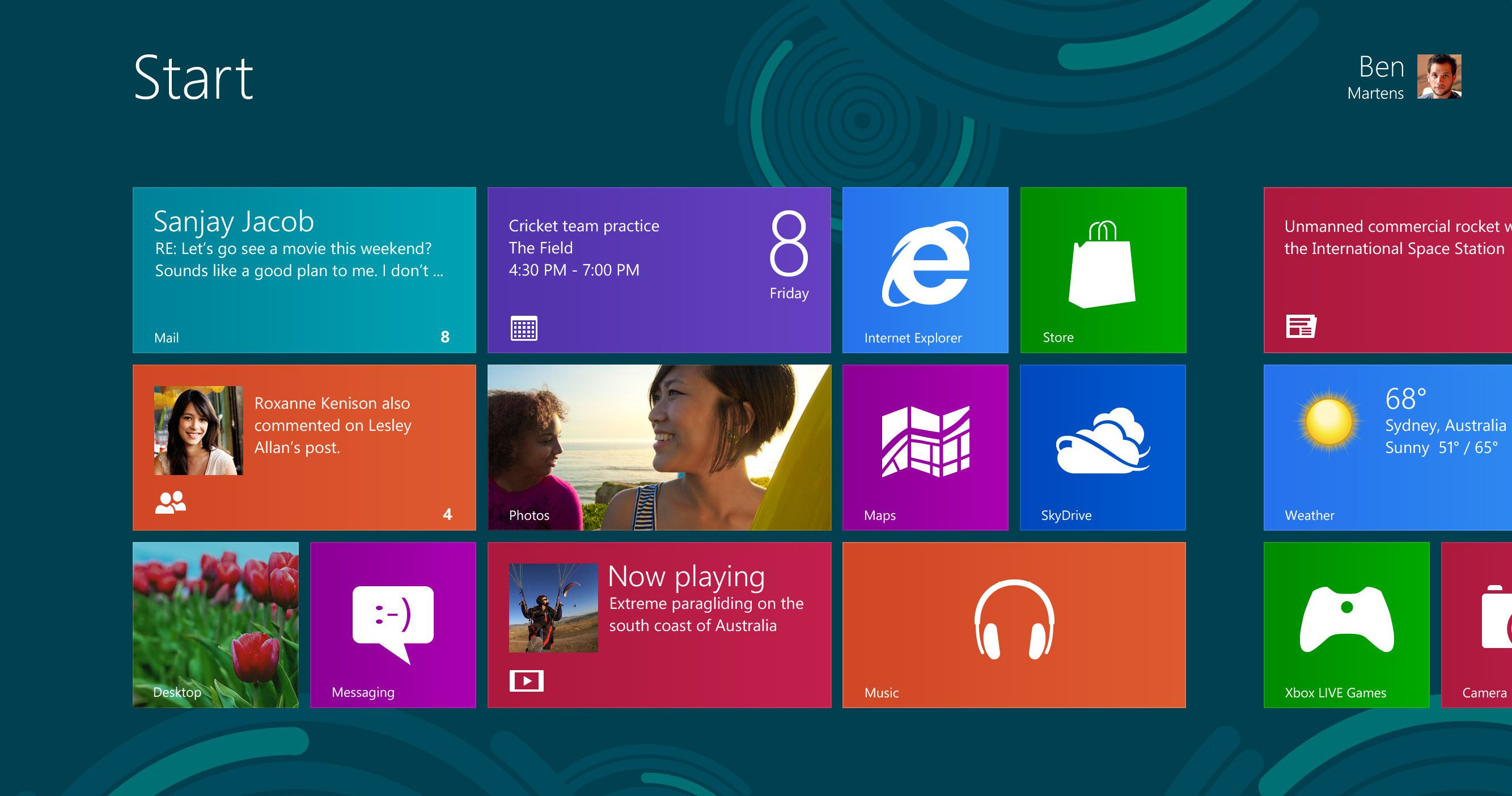 Windows 8 pe tablete, laptop-uri si calculatoare