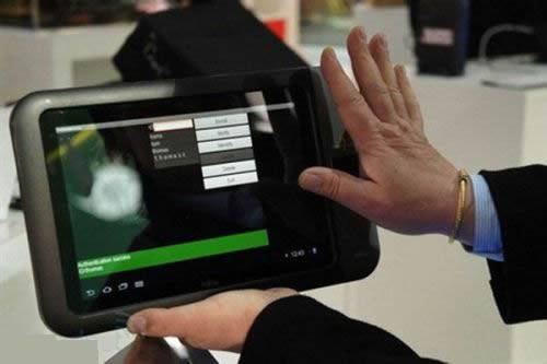 Fujitsu handprint recognition tablet