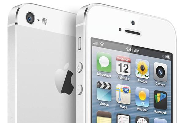 apple iphone 5s smartphone ios