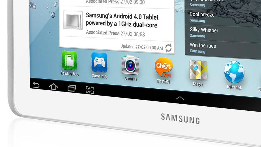 samsung galaxy tab android google