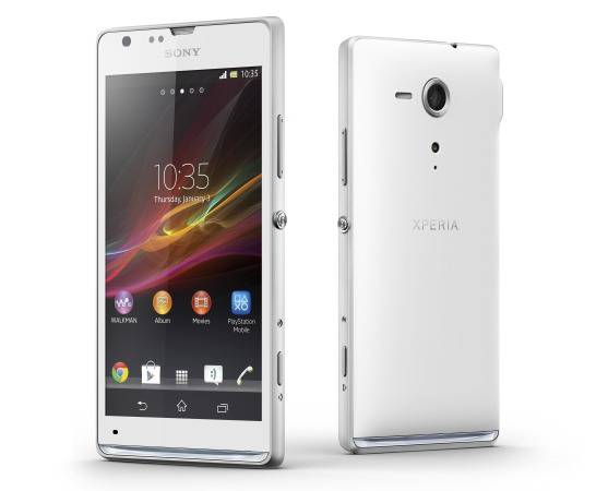 smartphone sony xperia sp rs android 4.1