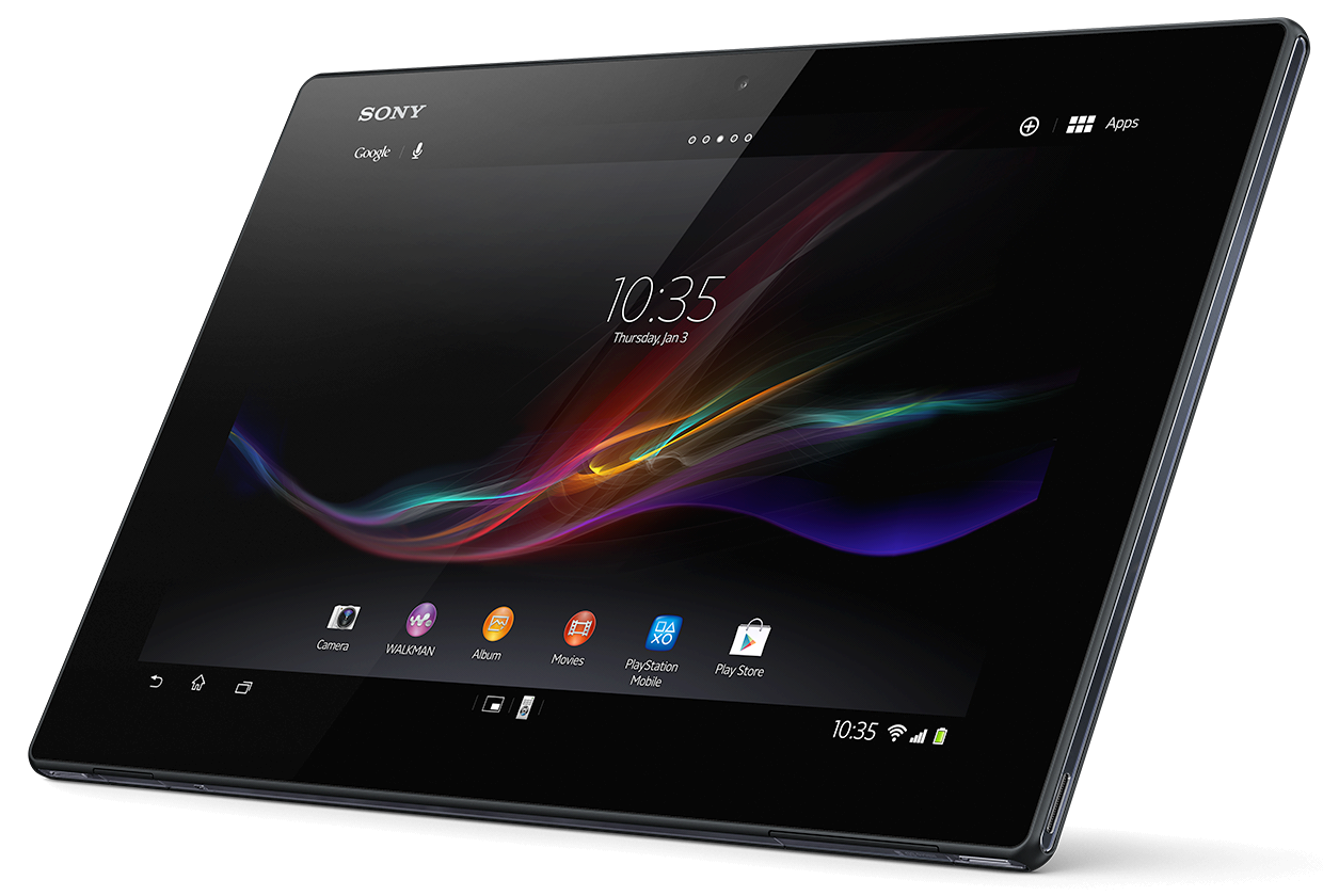 sony xperia tablet z noua tableta cu android