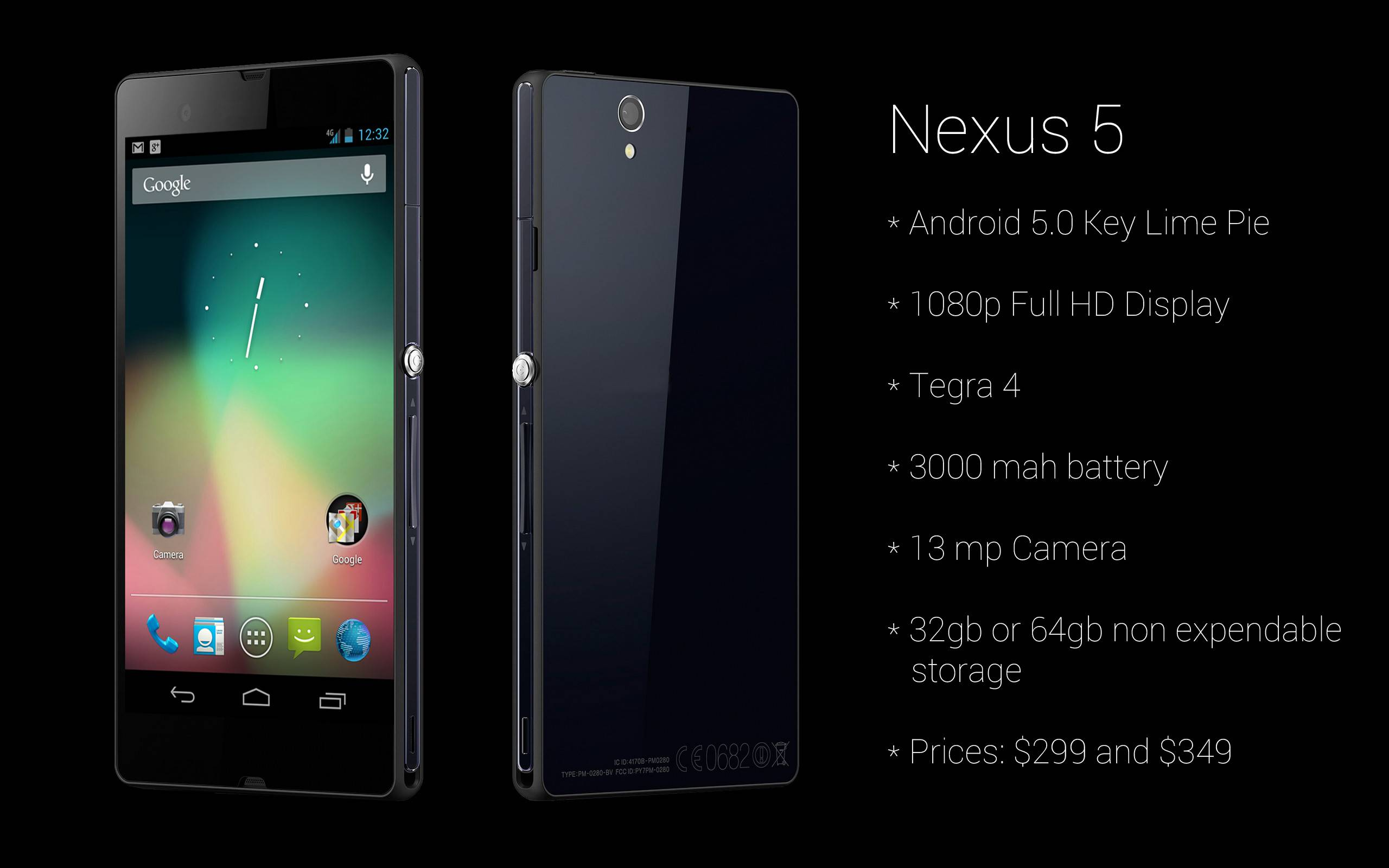 lg nexus 5 google android 5