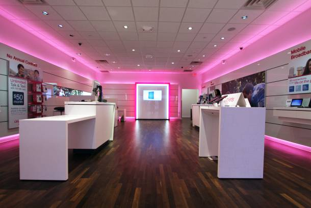 magazin retail T-Mobile