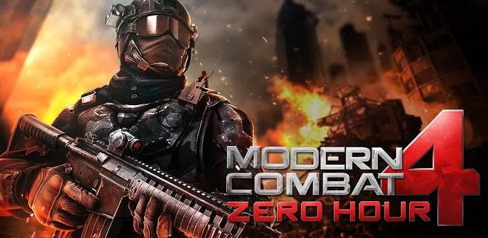 5 Modern Combat 4 Zero Hour