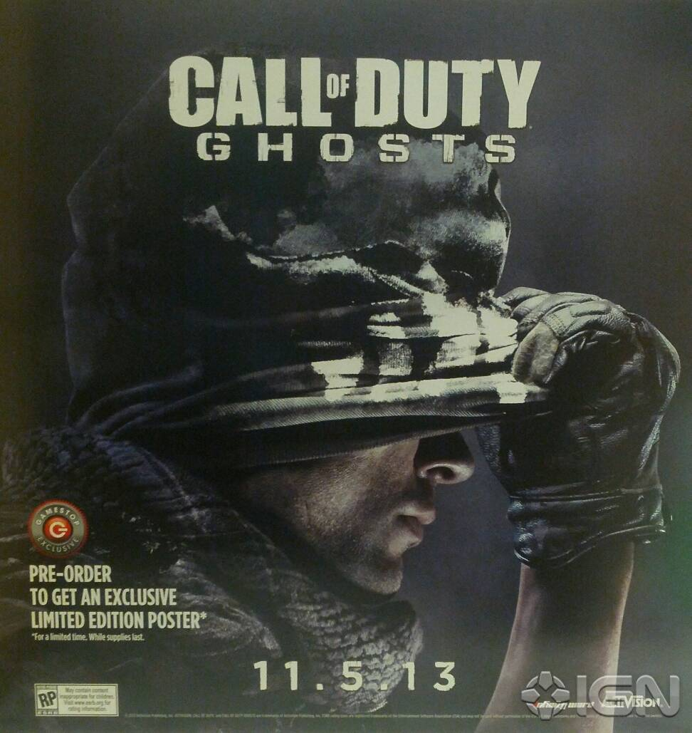 joc pc call of duty ghost poster
