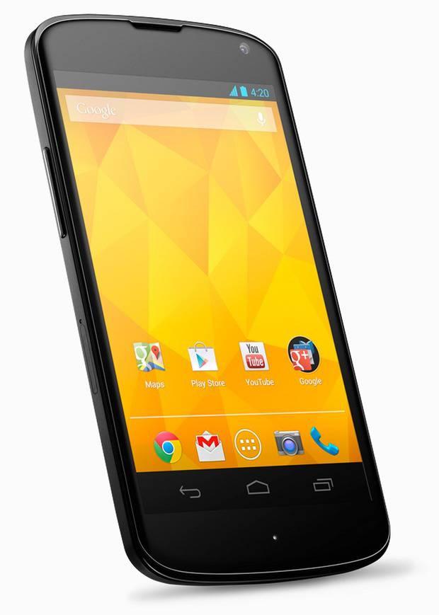 smartphone android google nexus 4
