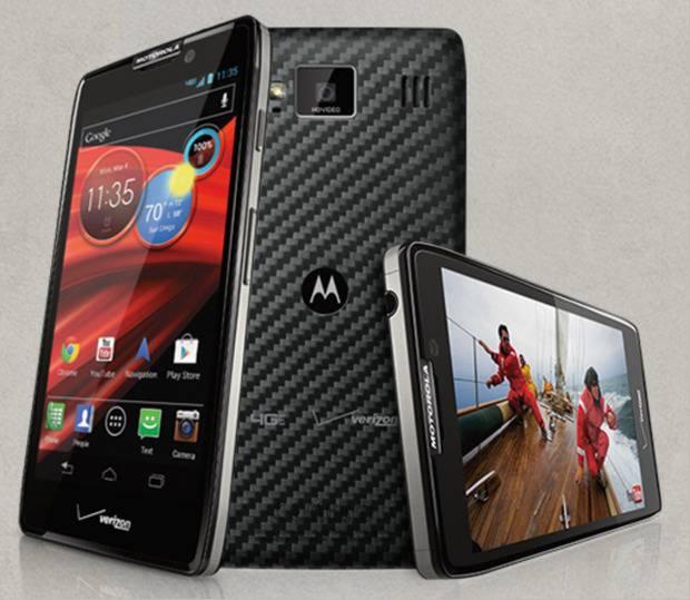 smartphone android motorola razr maxx hd