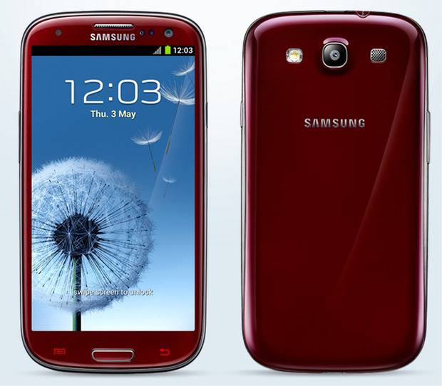 smartphone android samsung galaxy s3