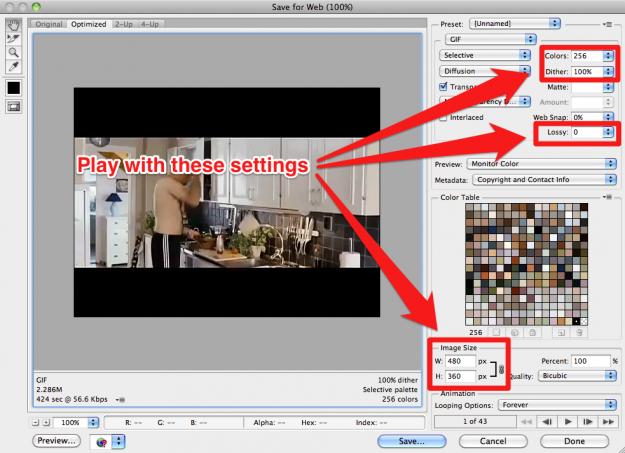 Cum realizam imagini animate GIF in Photoshop