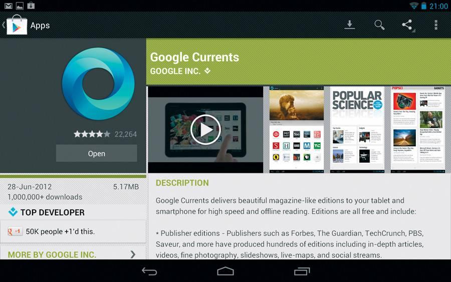 Google Currents 1