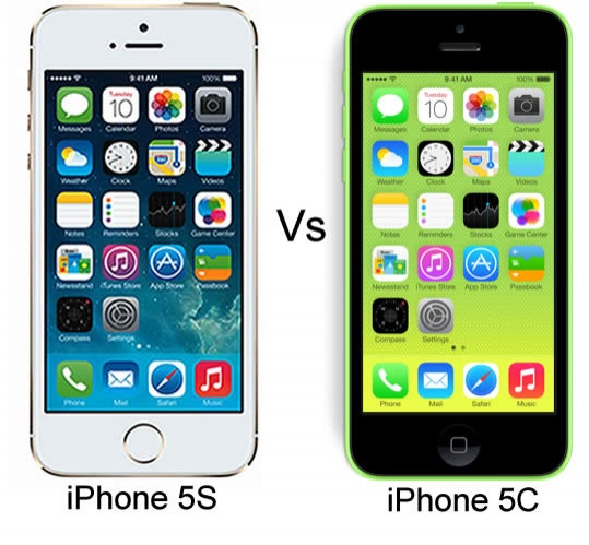 IPHONE 5 VS IPHONE C