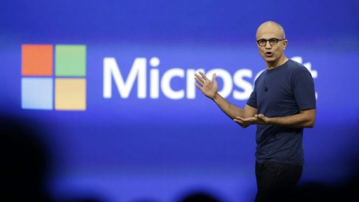 microsoft nadella build