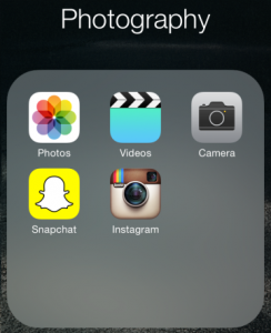 Aplicatia Photo din iOS