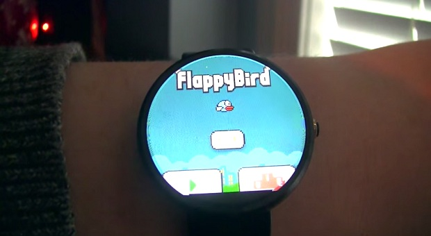 Flappy Bird Android Wear