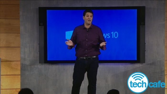 Terry Myerson eveniment prezentare Windows 10