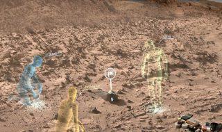 NASA OnSight si HoloLens de la Microsoft