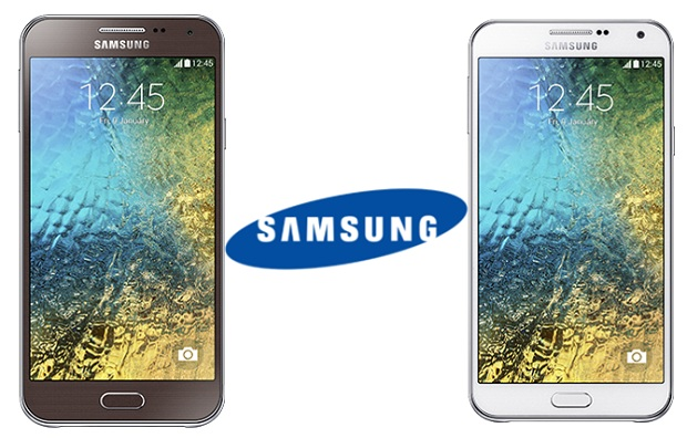 Samsung Galaxy E5 si Galaxy E7