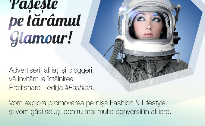 Invitatie eveniment dedicat afiliatilor din nisa Fashion