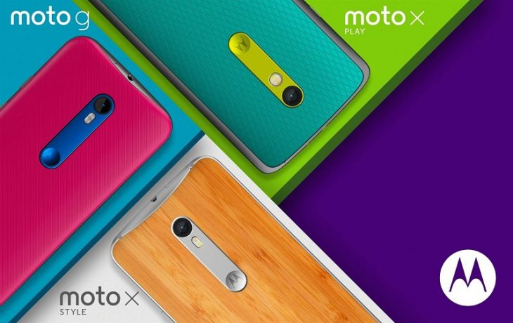 Motorola Moto G, Moto X Style, Moto X Play