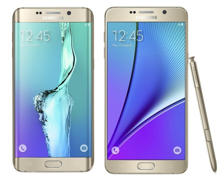 Samsung Galaxy S6 Edge Plus si Galaxy Note 5