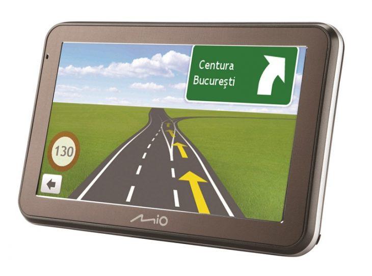 GPS Mio - Harta