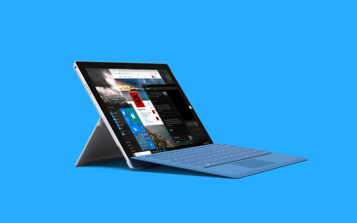 Microsoft Surface Pro cu Windows 10