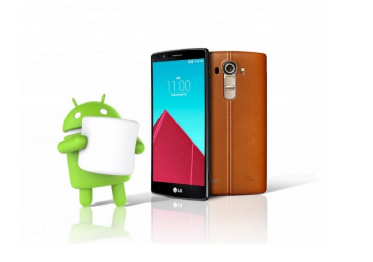 LG G4 Android 6.0 Marshmallow