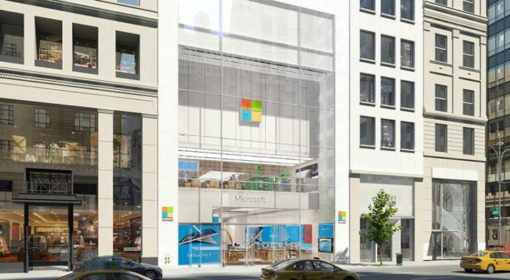 Magazin retail Microsoft