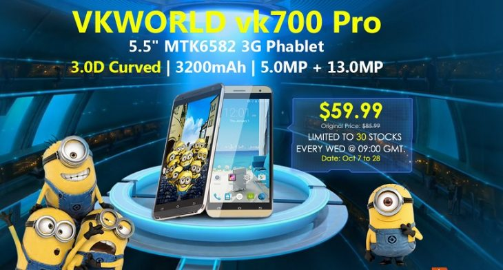 VKWorld VK700 Pro la Everbuying