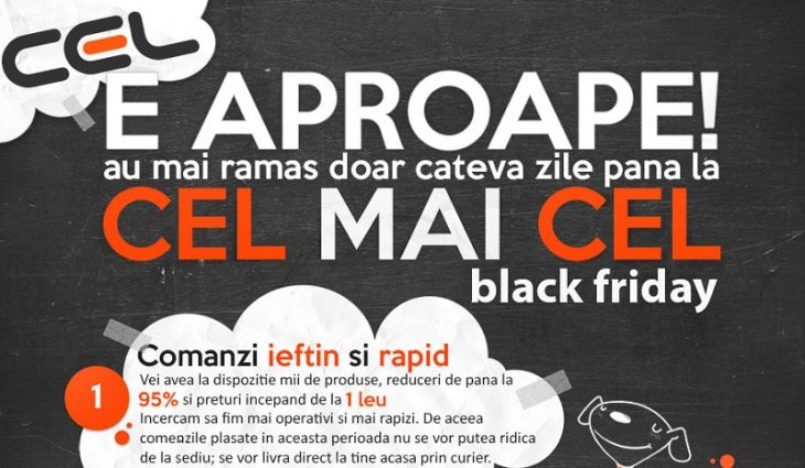 Black Friday 2015 la Cel.ro
