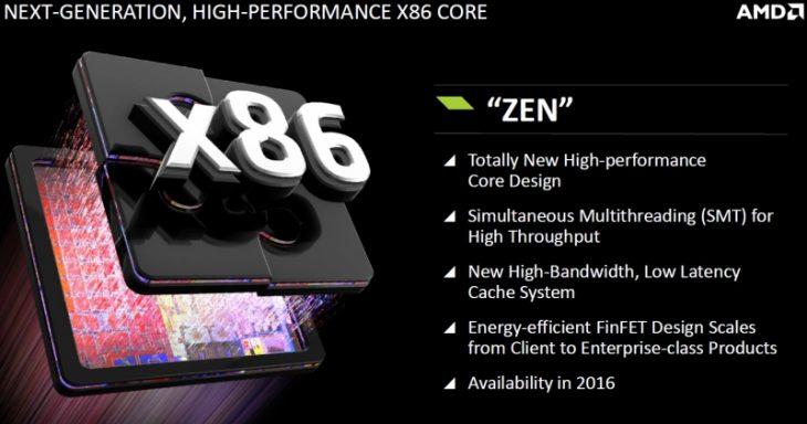 Procesoare AMD Zen