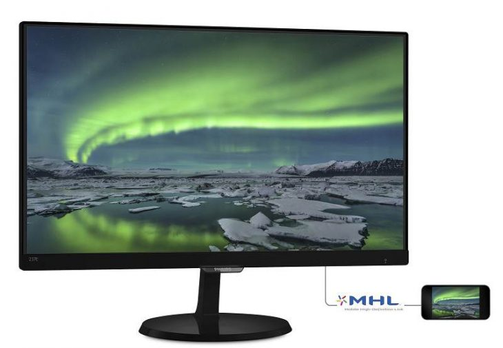 Monitor Philips 237e7qdsb MHL