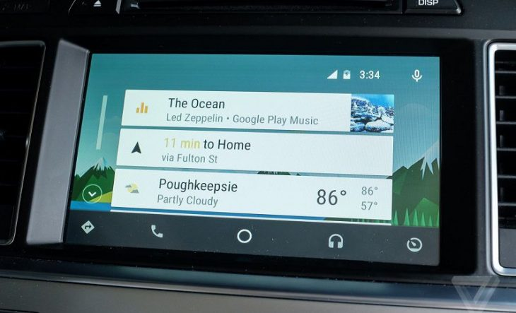 Android Auto 2.0, Foto: The Verge