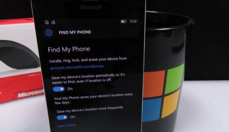 Find My Phone Windows 10