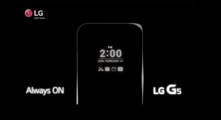 LG Always On Display
