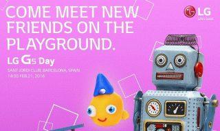 Invitatie prezentare LG G5