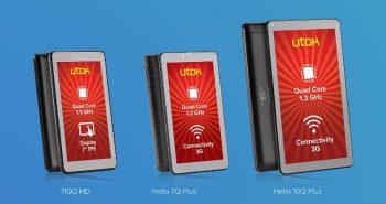 trei tablete noi de la UTOK