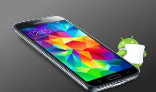 Samsung Galaxy S5 Android 6.0 Marshmallow