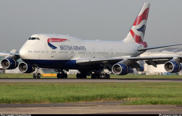 G-CIVG British Airways Boeing 747