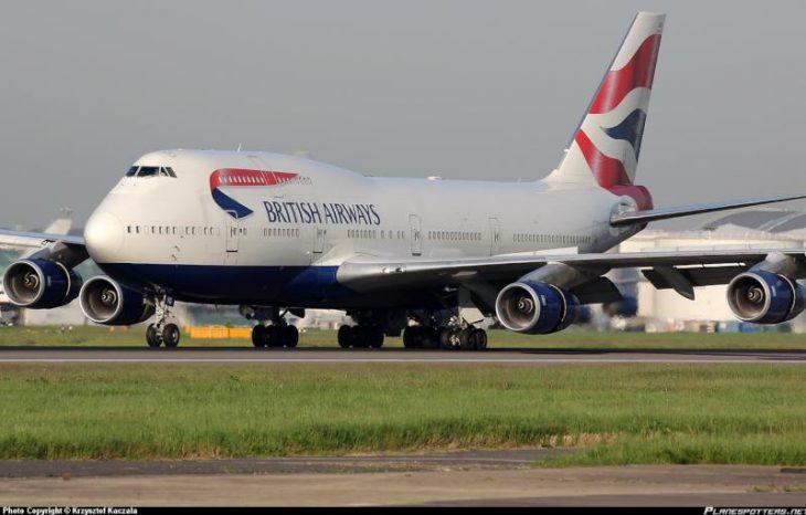 G-CIVG British Airways Boeing 747
