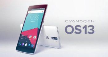 Cyanogen OS 13 pe OnePlus One
