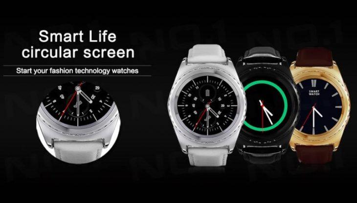 Smartwatch NO.1 S5 de la Gearbest