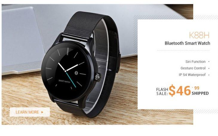 Smartwatch K88H la Gearbest