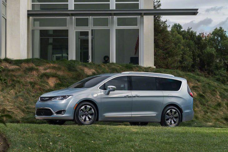 Hibridul Chrysler Pacifica