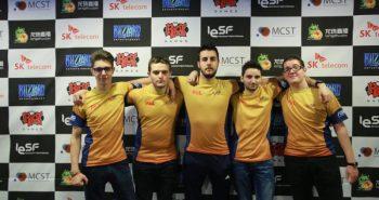 Echipa LOL IeSF 2016