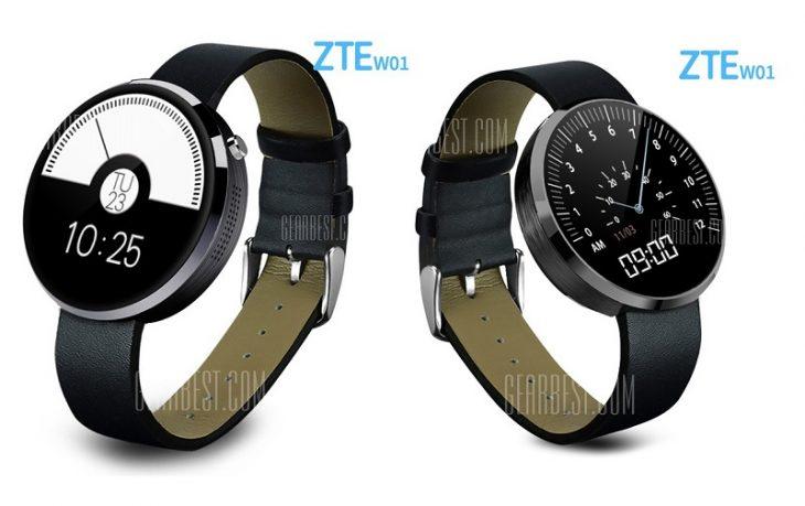ZTE W01 la Gearbest